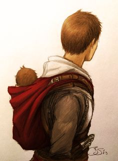 Baba by ~Artema  When Darim can't sleep, Maria packs him off with Altaïr for a run around Masyaf.