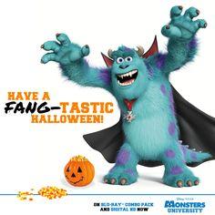 Monsters inc Halloween. Disney Halloween, Monsters Inc Halloween, Halloween Bags, Halloween Clipart, Happy Halloween, Disney S, Disney Love, Disney Magic, Image Monster