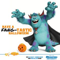Happy Halloween from #MonstersUniversity