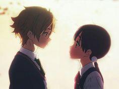Tamako love story-Mochizou e Tanako HYra Manga Anime, Moe Manga, Moe Anime, Anime Demon, Kawaii Anime, Anime Art, Anime Love Couple, Cute Anime Couples, Photo Couple Amoureux