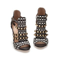 i want these BAD!!!! STUDDED SANDALS - Shoes - Woman | ZARA United States