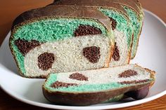 "White loaf ""Panda"" bread."