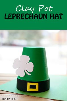 Clay pot leprechaun
