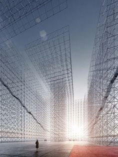 Guillaume Mazars, « Reveal the absence, the Un-Built » 3D Cubical Grid Building Project