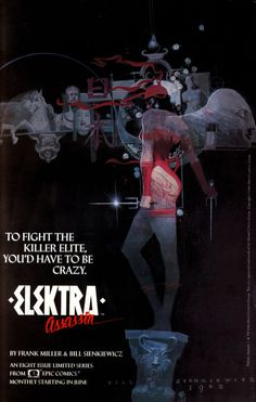 Elektra: Assassin (Epic Comics - 1986) - Bill Sienkiewicz