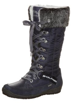 2032573d43e36 Oliver - Winter boots - blue I would rock these with some jeans☺