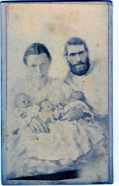 This one is listed on most boards as all three babies being deceased.  A simple click on the photo reveals that research on this photo indicates that all three were probably alive in this photo but one may have later died.  It is also possible that just one is dead above.  A very interesting photo with lots of detailed info.  It's very worth the time to read.