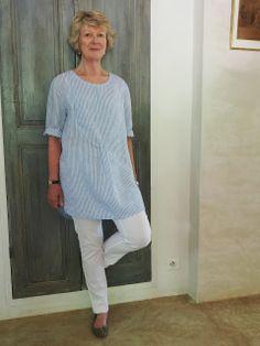 Merchant and Mills tunic   --  Sew Tessuti Blog - Sewing Tips & Tutorials - New Fabrics, Pattern Reviews