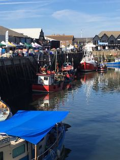 The gorgeous Whitstable Harbour - in full swing last month during the Oyster Festival.