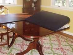 Tips Dining Room Table Pad Protector Table Protector Pads intended for dimensions 1817 X 1320 Kitchen Table Pad Round - If you've been looking at Furniture Repair, Modern Furniture, Classic Furniture, Furniture Design, Dining Room Table, Dining Chairs, Kitchen Tables, Dining Rooms, Puzzle Table