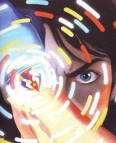 scienceninjaturtle:Battle of the Planets/ Gatchaman by Alex Ross Marvel Art, Marvel Comics, Ms Marvel, Captain Marvel, Gi Joe, Fictional Heroes, Robot Cartoon, Battle Of The Planets, Morning Cartoon