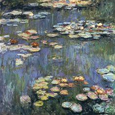 Claude Monet-Seerosen.