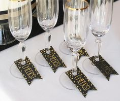Black Gold Party Art Deco Style Cheers Favor Tag (Pack of - Start the party right.spread the cheer.add to Art Deco Themed Weddings, Graduation Night, Birthday Parties, Great Gatsby Events and more. Great Gatsby Party, Gatsby Theme, Nye Party, Gold Party, Black Party, Art Deco Wedding Theme, Art Deco Party, Twenties Party, Aisle Runner Wedding
