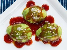Avocados with Salted Caramel