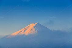 Fuji mountain by Pushish Images on @creativemarket
