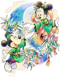 Cute Mickey & Minnie!!!