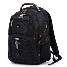 Swiss Army knife bag business travel bag Swiss Army knife shoulder bag backpack men and women bag 15.6-inch computer bag