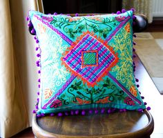 16x16 Inches Minty Green Turkish Traditional by prettysurprise