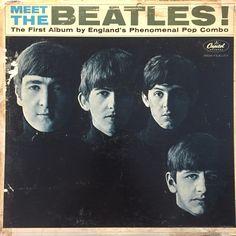 The Beatles - Meet The Beatles! vinyl