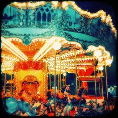 Original beautiful fine art ttv photography on cotton canvas vintage fantastic colors old Carousel print large cotton canvas poster size 12 inches x 12 inches large size photo poster  Romantic gorgeous fine art with an old carousel in a greek island special edition on cotton canvas , acrylics and gold leafing 24K