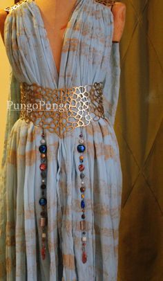 Qarth Dress Beads Ready to Ship Daenerys Targaryen by pungopungo, $40.00 game of thrones costume cosplay khaleesi dany accessories