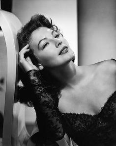 Ava Gardner: A Face Like No Other • fuckyeahavagardner:   Ava Gardner c. 1949