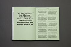 Handwert - Traditionsberufe in der modernen Gesellschaft Content:322 Pages9 Illustrations8 Photography reports8 Interviews2 different papersopen stitch bindingcover with a hot foil stamping on natural cardboard Editorial & IllustrationMarcin K…