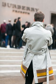 Fashion Week: Well-Tailored Trenches and Sharp Coats: The Daily Details: Blog : Details
