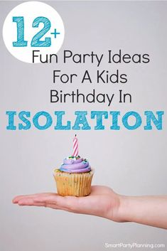 12 easy isolation birthday party ideas that the kids will absolutely love. Being stuck at home under quarantine or isolation doesn't mean a birthday celebration has to be dull. These ideas will ensure a fun and exciting birthday whilst still adhering to social distancing guidelines. This will be a birthday to be remembered for all the right reasons. Small Birthday Parties, Birthday Party At Home, Sweet 16 Parties, Birthday Celebration, Birthday Ideas, 10 Birthday, Karaoke Party, Party Themes For Boys, Family Birthdays