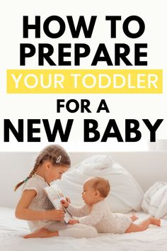 Are you preparing for baby This must-read post will help you prepare your toddler or preschooler for a new sibling. Second Baby, Second Child, Baby Live, New Sibling, Baby On A Budget, Preparing For Baby, Bedtime Routine, Baby Development, Baby Health