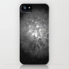 dandylion dreams iPhone Case by silverylizard - $35.00