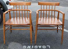 Paul McCobb Captains Chair  Maple 1950s Mid by HearthsideHome, $849.00