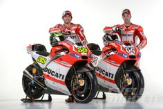 Cal Crutchlow and Andrea Dovizioso. Desmosedici GP14 from every angle, plus quotes from Ducati's top brass and factory riders