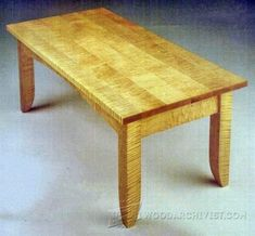 1127-Coffee Table Plan