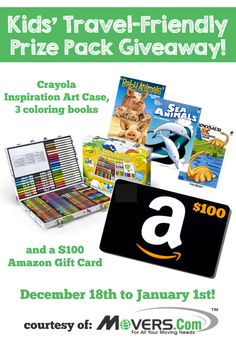 Kids Travel Friendly Giveaway