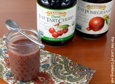 Tart Cherry & Pomegranate Curd PLUS a Giveaway! (For the Love of Cooking) Just Juice, Curd Recipe, Marinade Sauce, Home Canning, Cherry Tart, Canning Recipes, Chutney, Food Hacks, Pomegranate