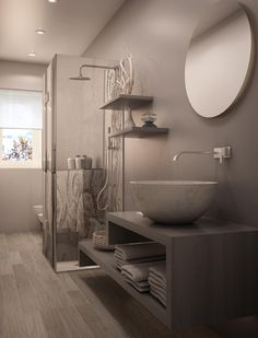 Rustic bathrooms are ideal for people who want to offer their toilet a rough, down-home feel. A rustic toilet could have an eclectic and mismatched feel. Dream Bathrooms, Bathroom Interior, Rustic Bathroom Accessories, New Home Designs, Modern Luxury Interior, Bathroom Decor, Bathroom Style, Bathroom Design Decor, Bathroom Design