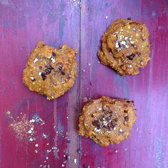 Pompoen! Wat? Alweer pompoen? JA! Alweer hebben we een gerecht gemaakt met pompoen. Deze keer overheerlijke koekjes met gedroogde abrikoos en banaan. Deze koekjes zijn super zoet en tasty! Wij konden niet stoppen met eten. Gelukkig zijn ze heel laag in calorieën.