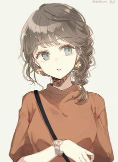 6 Anime Kawaii Pictures – About Anime Manga Anime Girl, Anime Girl Drawings, Anime Oc, Fanarts Anime, Anime Angel, Anime Artwork, Kawaii Anime Girl, Anime Chibi, Manga Art