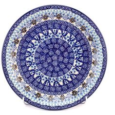Shades of blue for Polish pottery fans. Let´s check out our new website http://slavicapottery.com :)