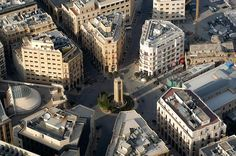 Lebanon, Downtown Beirut Architecture