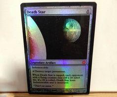 Magic The Gathering Death Star Card
