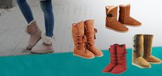 """A girl should have two things: classy and fabulous."" -Coco Chanel  Ugg Boots are classy and fabulous at reasonable costs. Just need to order it and get the ordered one soon. #Fashionboots #Kidsboots #Outfit #fashion"