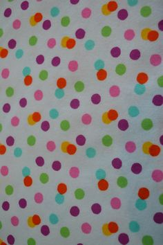 A personal favorite from my Etsy shop https://www.etsy.com/listing/504394521/scattered-bright-dots-snuggle-flannel