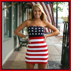 Cute 4th Of July Outfit! (: