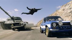 """Fast and Furious 6"" awesome stunt"