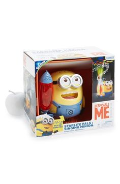 New Dimensions 'Starlite Pals - Despicable Me Singing Minion' Night Light