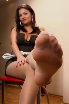 Under my pantyhose feet understand