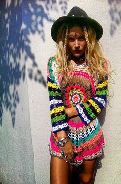 Bright crochet....