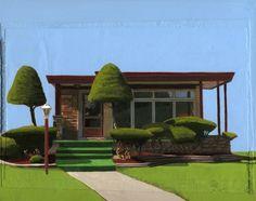 Leah Giberson.  Looks like a home for a Sim.
